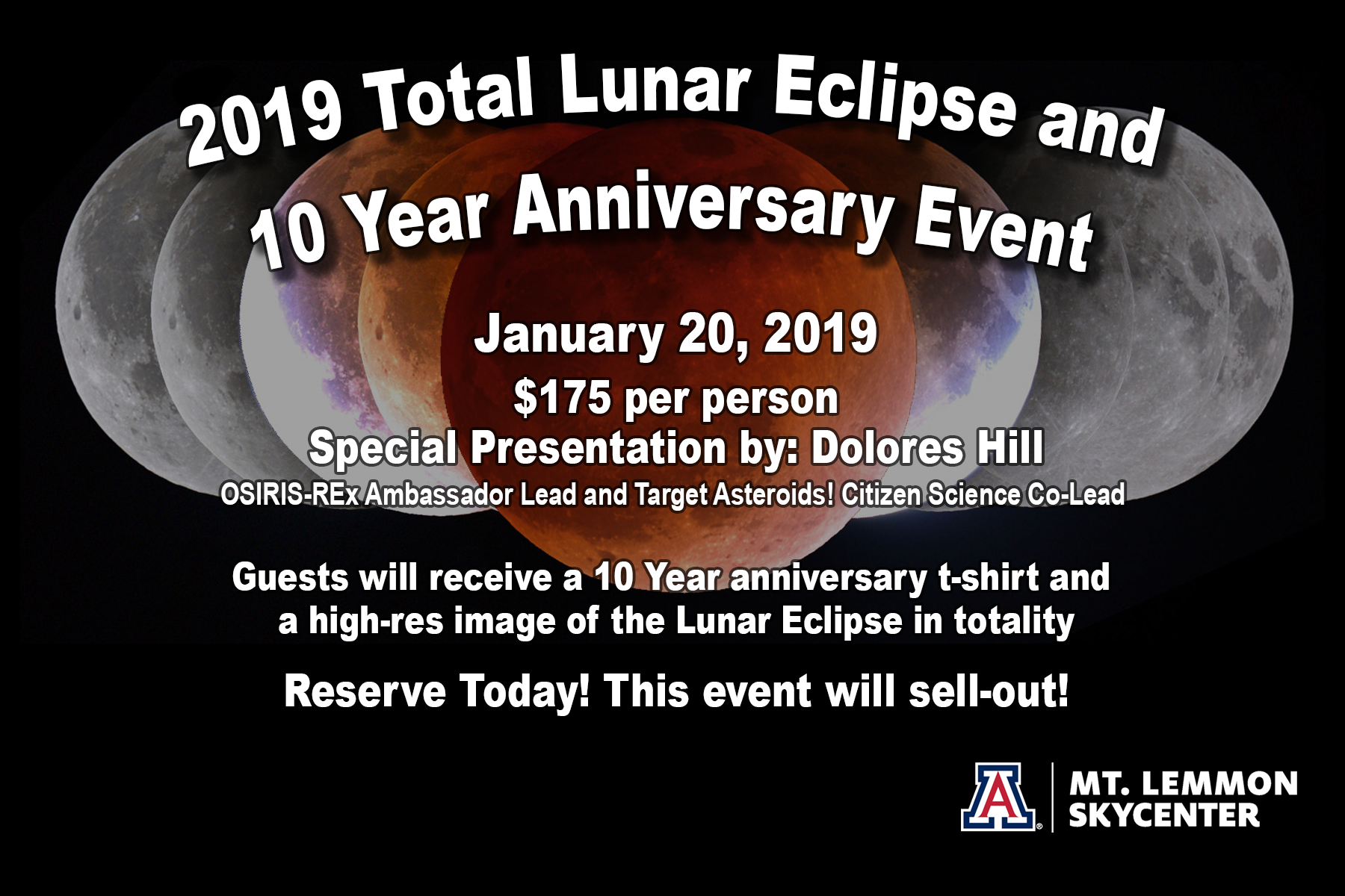 2019 Lunar Eclipse And 10th Anniversary Event Skycenter