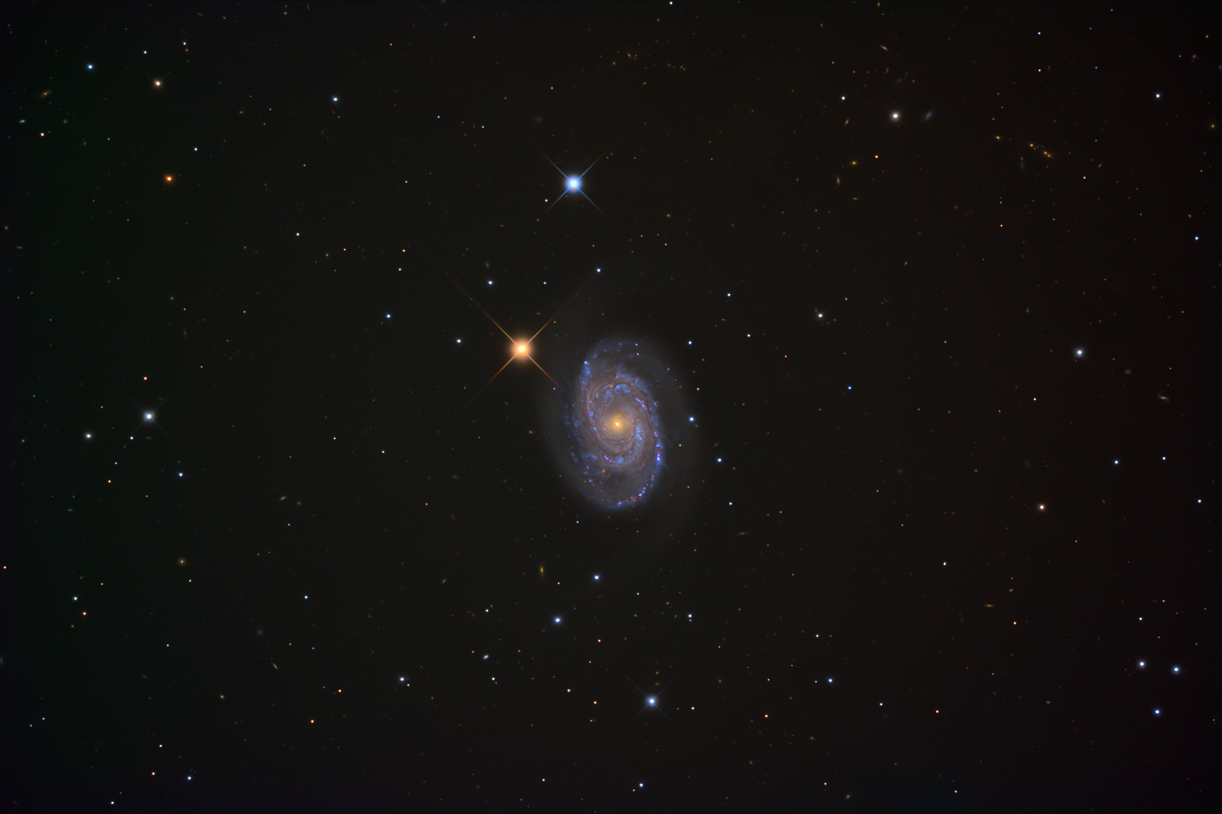 A photo of a galaxy