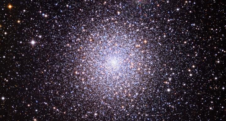 Image of M15 is a globular cluster - a spherical collection of stars that orbits a galactic core, in the constellation Pegasus.